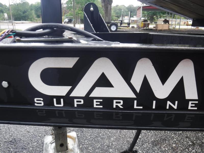 2021 Cam Superline P3CAM612TT Equipment Trailer