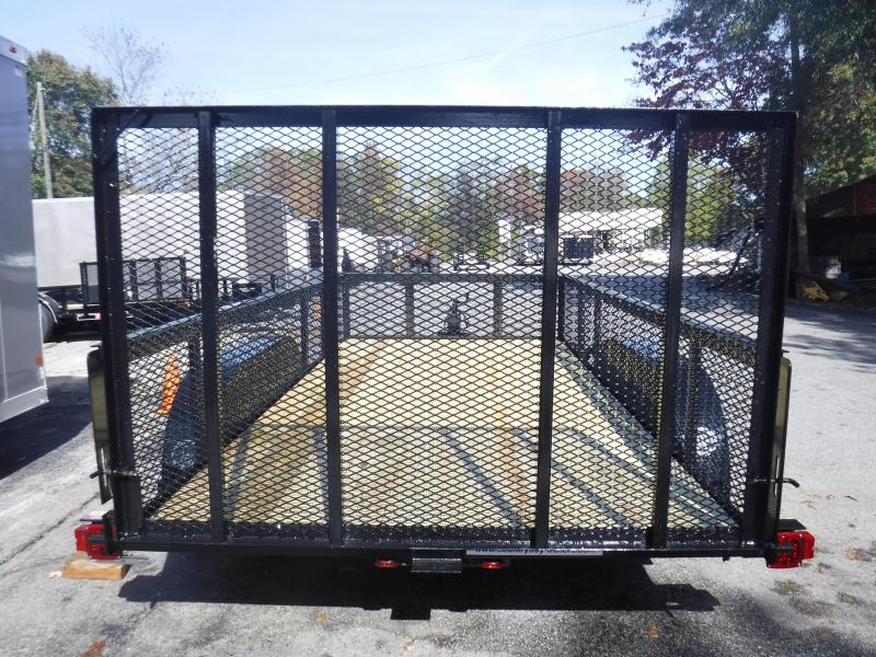 Landscape Trailer 76X14 2' Wire Side