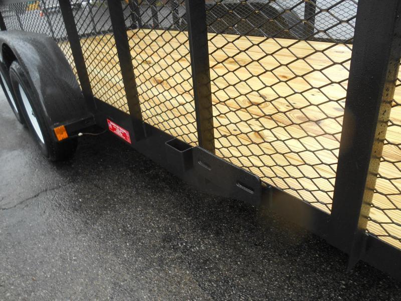 Landscape Trailer 76X16 2' Wire Side