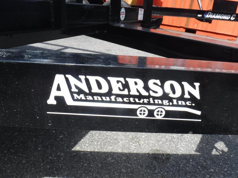 2021 Anderson Manufacturing LS612 Landscape Trailer
