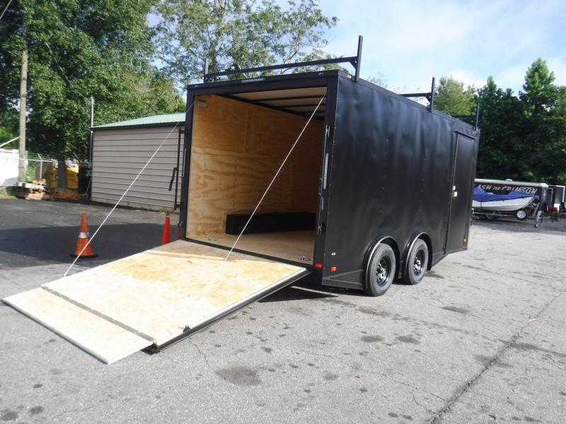 2021 Covered Wagon Trailers 8.5X16TA-GOLD Enclosed Cargo Trailer