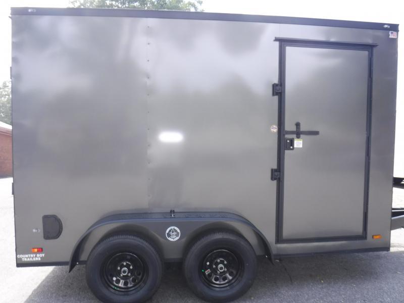 7X12 Enclosed 2-3500 lb.Axle