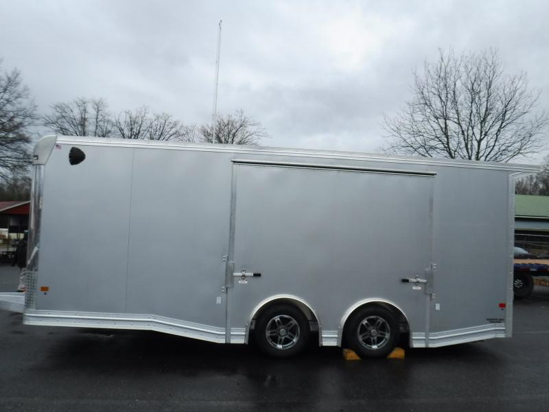 All Alum. 8.5X20 Enclosed Trailer