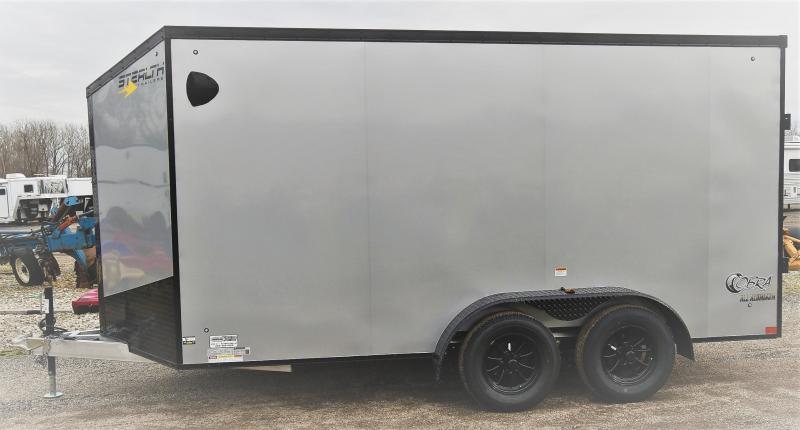 2021 Stealth Trailers Cobra 7X14 Enclosed Cargo Trailer