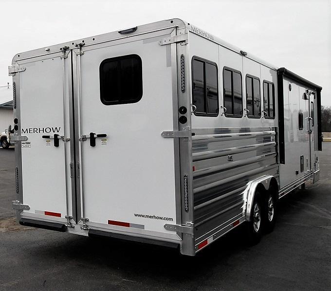 2020 Merhow Trailers 8412 Horse Trailer