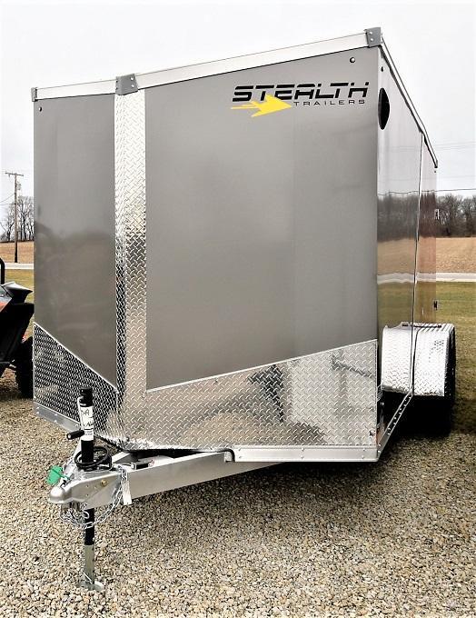 2022 Stealth Trailers 7X16 Cobra all Aluminum Enclosed Cargo Trailer