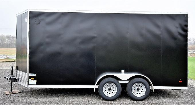 2022 US Cargo ULAFT 7 x 16 Enclosed Cargo Trailer