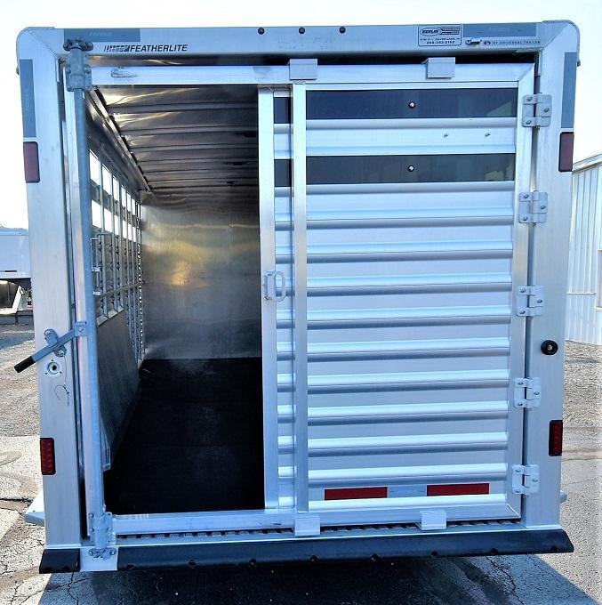 2014 Featherlite Stock Combo w/DR Horse Trailer