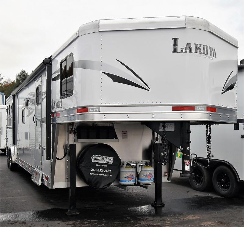 2020 Lakota Charger 8315 Sofa & Dinette Horse Trailer