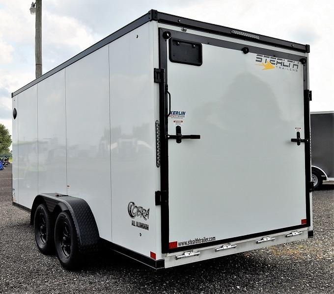 2022 Stealth Trailers Cobra 7X16 Enclosed Cargo Trailer