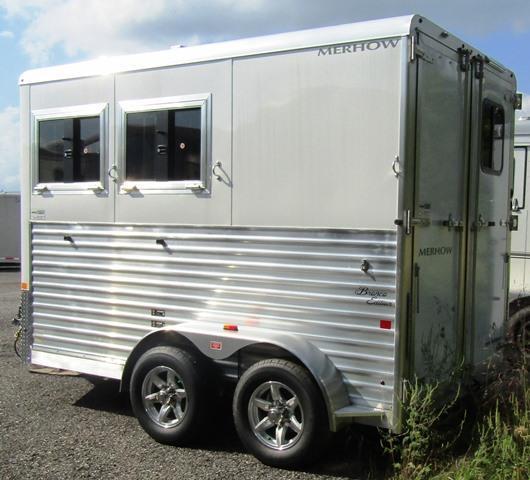 2020 Merhow Trailers Bronco 2-H Bumper Pull Horse Trailer