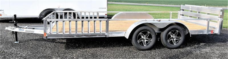 2022 Stealth Trailers Phantom 7X16 Aluminum Utility Trailer