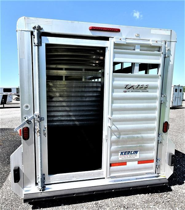2013 Exiss Trailers Stock Combo w/Dressing Room Horse Trailer
