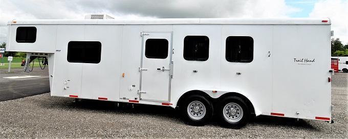 2013 Bison Trailers 7309 Trail Hand Horse Trailer