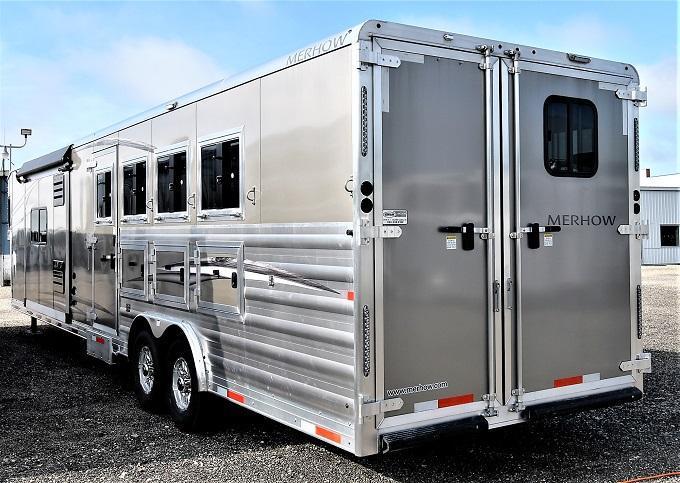 2020 Merhow Trailers Stampede Horse Trailer 4 horse