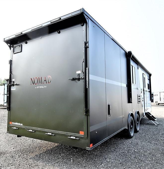 2022 Stealth Trailers Nomad 8.5 X28 Front Bedroom Toy Hauler RV