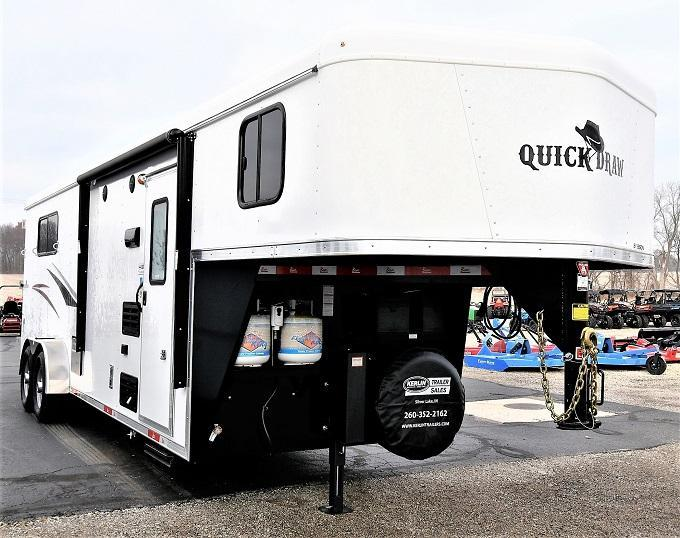 2021 Bison Trailers 7308 Quick Draw Horse Trailer