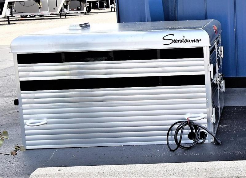 2020 Sundowner Trailers Short Bed Stockbox Livestock Trailer
