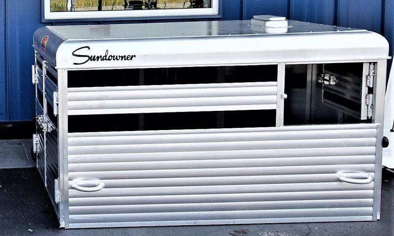 2020 Sundowner Trailers Short Bed Stockbox Livestock Trailer