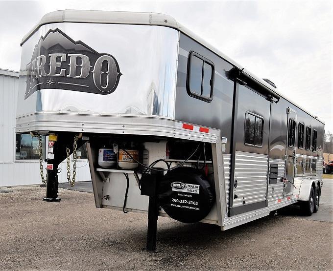 2016 Bison Trailers Laredo 7411 Horse Trailer