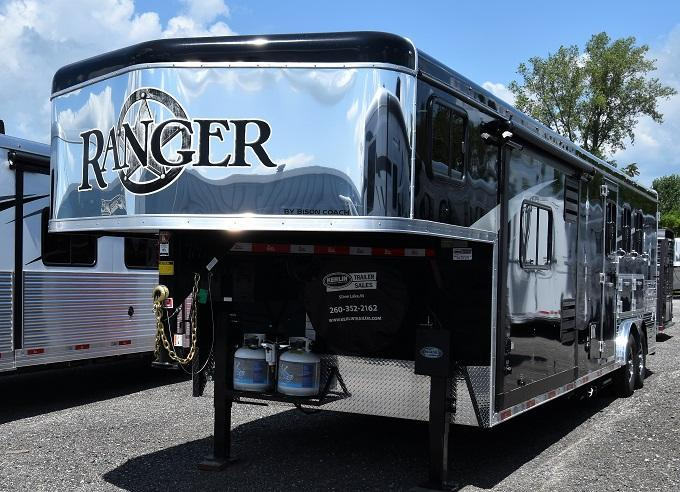 2020 Bison Trailers 8313 Ranger Horse Trailer