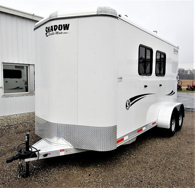 2017 Shadow Trailers Stablemate with midtack Horse Trailer