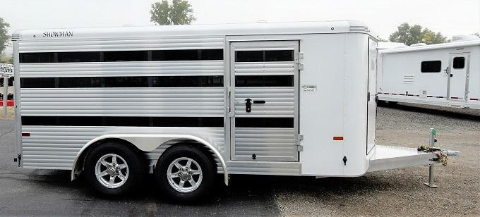 2021 Sundowner Trailers Showman Low Pro 6-Pen Livestock Trailer