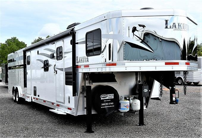 2019 Lakota Livestock with 11' LQ Horse Trailer