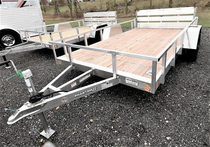 2021 Stealth Trailers Phantom II 6.5X12 Utility Trailer