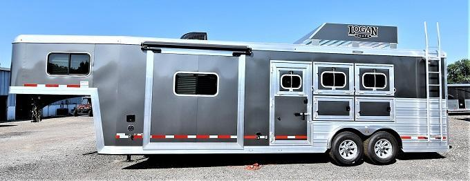 2021 Logan Coach Limited 810 Horse Trailer