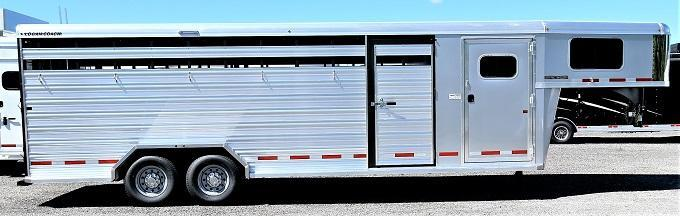2020 Logan Coach Stock Combo Horse Trailer