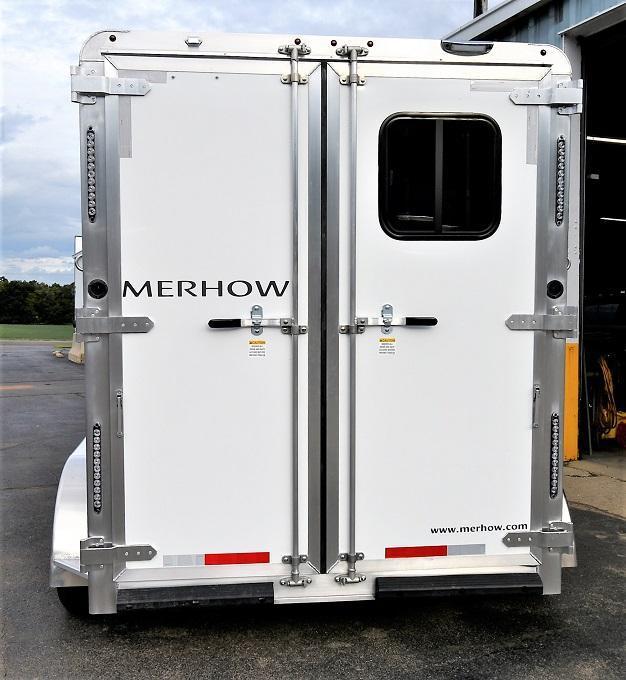 2022 Merhow Trailers Bronco Bumper Pull Horse Trailer