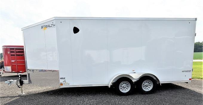 2022 Stealth Trailers Apache 21' Snowmobile Snowmobile Trailer
