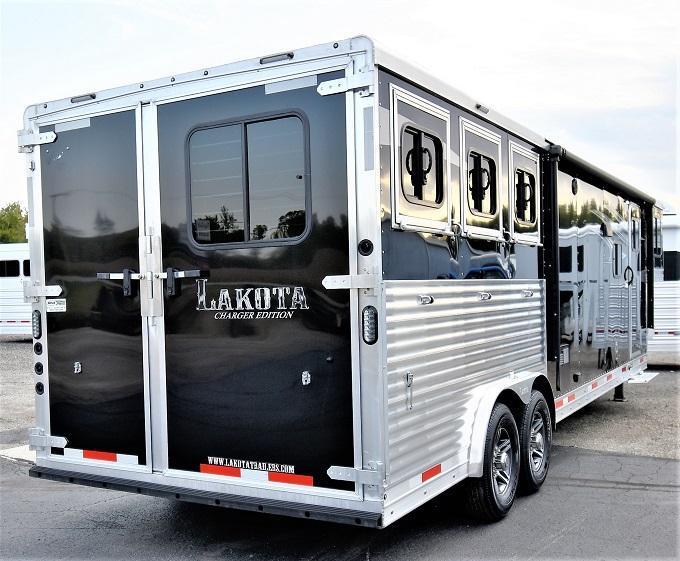 2020 Lakota 8313 Charger Horse Trailer