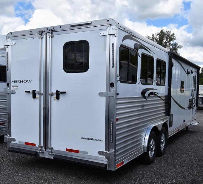 2020 Merhow Trailers 8312 Alumastar Next Generation Horse Trailer