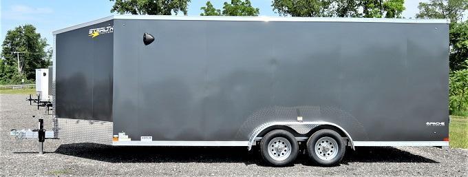 2022 Stealth Trailers Apache Snowmobile 23' Snowmobile Trailer