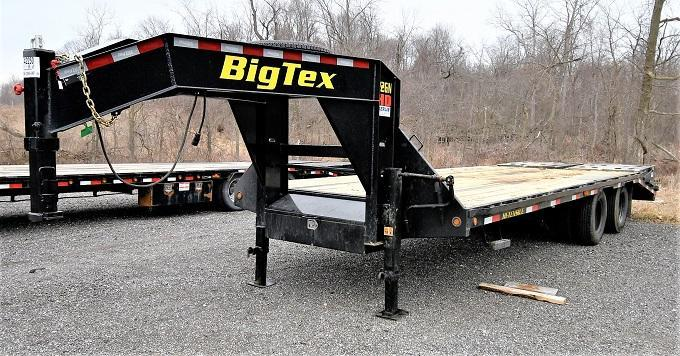 2020 Big Tex Trailers 20+5 Dual Tandem Flatbed Trailer