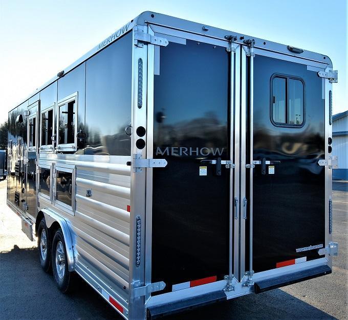 2020 Merhow Trailers Stampede 8308RWS Horse Trailer