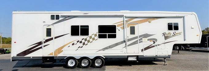 2008 Travel Units Rally Sport  Toy Hauler RV