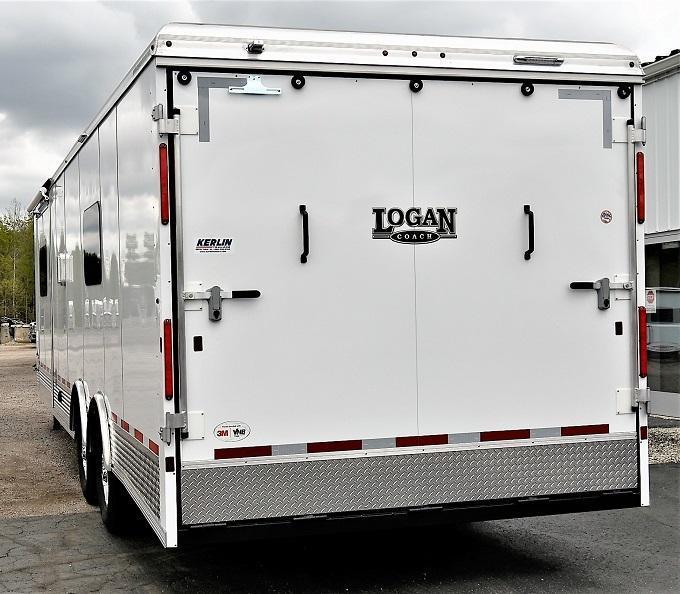 2022 Logan Coach Sports Hauler 12X12 Slideout w/16' Garage Toy Hauler RV