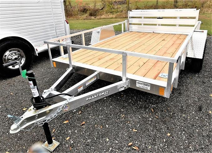 2021 Stealth Trailers Phantom II 6.5X10 Utility Trailer