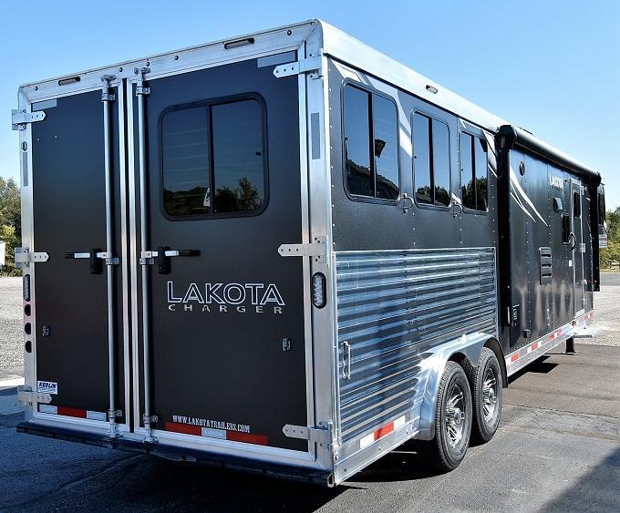 2022 Lakota 8313 Charger Horse Trailer
