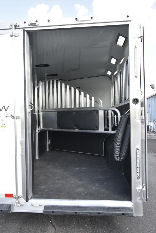 2022 Merhow Trailers 8314 Next Gen Rws Horse Trailer