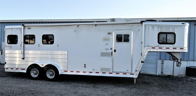 2003 Kiefer Built Genesis X340 Horse Trailer