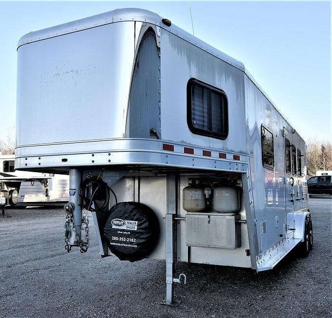 2003 Kiefer Built Genesis X340 Horse Trailer