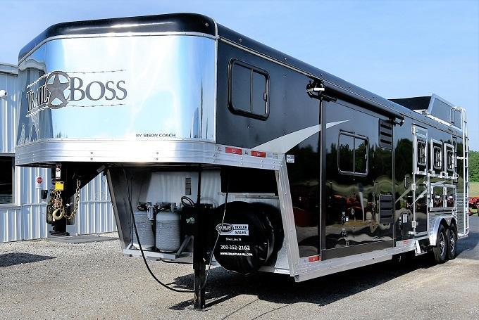 2020 Bison Trailers 8313 Trail Boss Horse Trailer