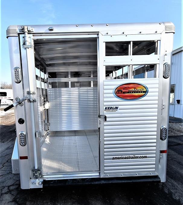 2021 Sundowner Trailers Stockman 16' Bumper Pull Livestock Trailer