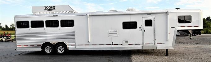 2021 Logan Coach Limited 814 Horse Trailer