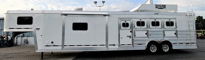 2021 Logan Coach Limited 814 Horse Trailer