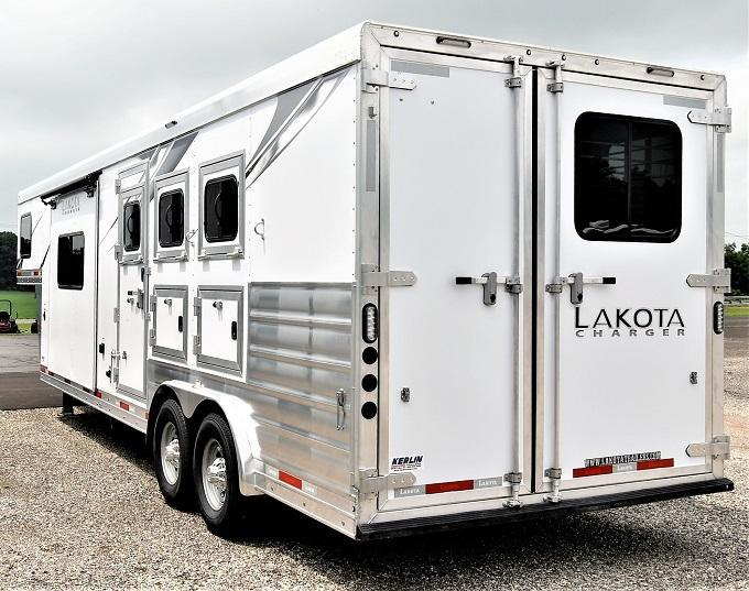 2022 Lakota Charger 8311RK Horse Trailer
